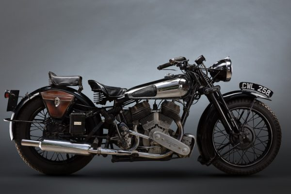 Brough Superior SS80 800cc 1936